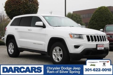 Pre-Owned 2016 Jeep Grand Cherokee Laredo Four Wheel Drive SUV