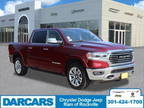 Pre-Owned 2019 Ram 1500 Longhorn Four Wheel Drive Pickup Truck