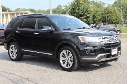 Pre-Owned 2019 Ford Explorer 4DR 4WD LTD Four Wheel Drive SUV