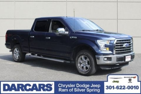 Pre-Owned 2016 Ford F-150 XLT Four Wheel Drive Short Bed