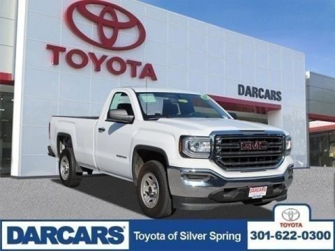 Pre-Owned 2018 GMC Sierra 1500 RWD Regular Cab Pickup