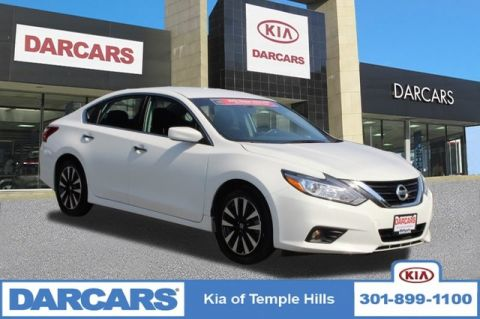 Pre-Owned 2018 Nissan Altima 2.5 SV Front Wheel Drive Sedan