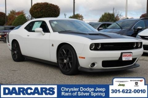 Pre-Owned 2016 Dodge Challenger 392 Hemi Scat Pack Shaker Rear Wheel Drive Coupe