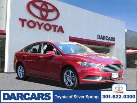 Pre-Owned 2018 Ford Fusion SE FWD 4dr Car