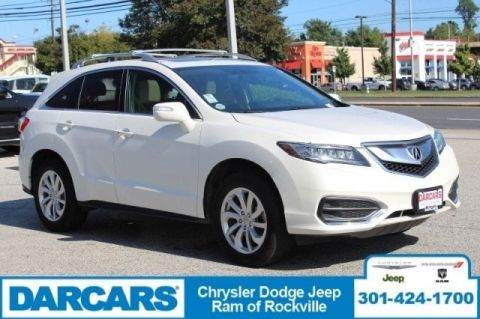 Pre-Owned 2017 Acura RDX w/Technology Pkg All Wheel Drive SUV