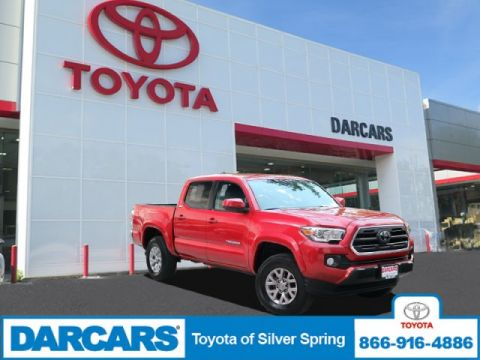 Pre-Owned 2018 Toyota Tacoma SR 4WD Crew Cab Pickup