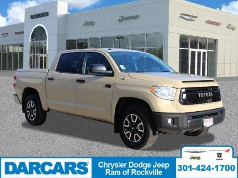 Pre-Owned 2017 Toyota Tundra 4WD SR5 Four Wheel Drive Pickup Truck