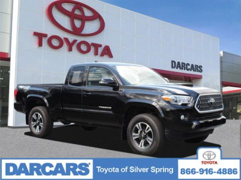 Pre-Owned 2018 Toyota Tacoma TRD Sport 4WD Extended Cab Pickup